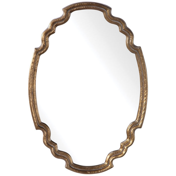 Uttermost Ariane Gold Oval Mirror