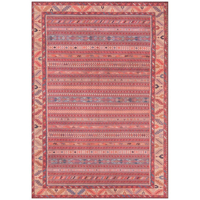 Momeni Afshar Turkish Machine Made AFS-5 Multi Rug