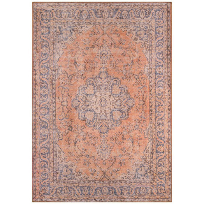 Momeni Afshar Turkish Machine Made AFS11 Copper Rug
