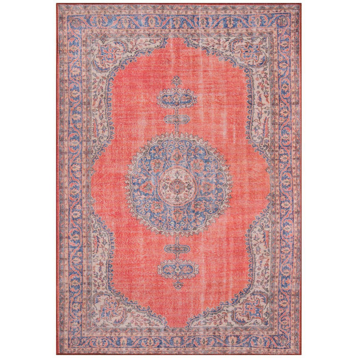 Momeni Afshar Turkish Machine Made AFS12 Red Rug