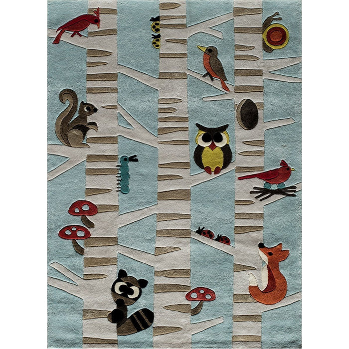 Momeni Lmoju Chinese Hand Tufted LMJ29 Light Blue Rug