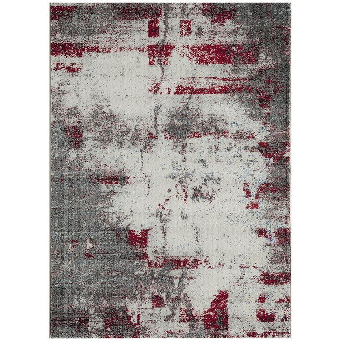 "Momeni Rug Loft Machine Made 9'-3"" X 12'-6"" Grey Rug"