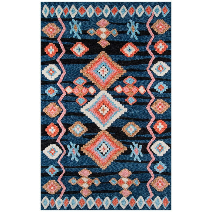 Momeni Margaux Chinese Machine Made MGX-04 Navy Rug