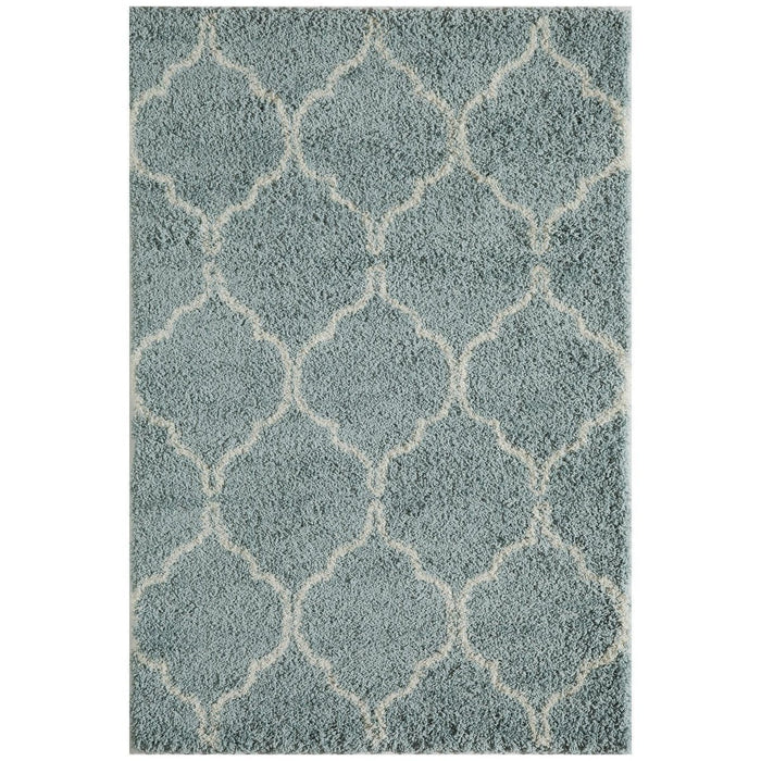 "Momeni Rug Maya Machine Made 9'-3"" X 12'-6"" Blue Rug"