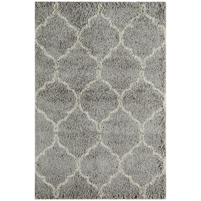 "Momeni Rug Maya Machine Made 9'-3"" X 12'-6"" Grey Rug"