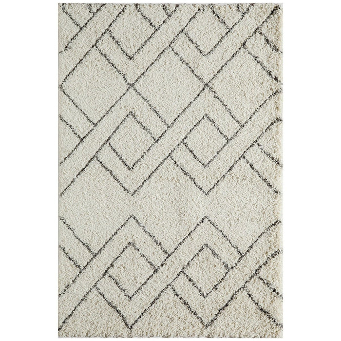 "Momeni Rug Maya Machine Made 9'-3"" X 12'-6"" Ivory Rug"
