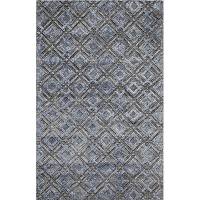 Momeni Indian Hand Tufted MI-07 Silver Rug