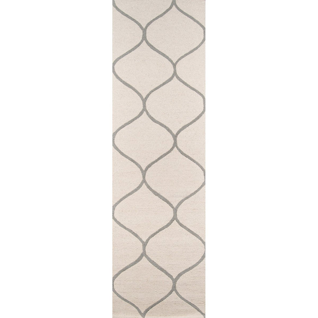 Momeni Indian Hand Tufted NP-10 Ivory Rug