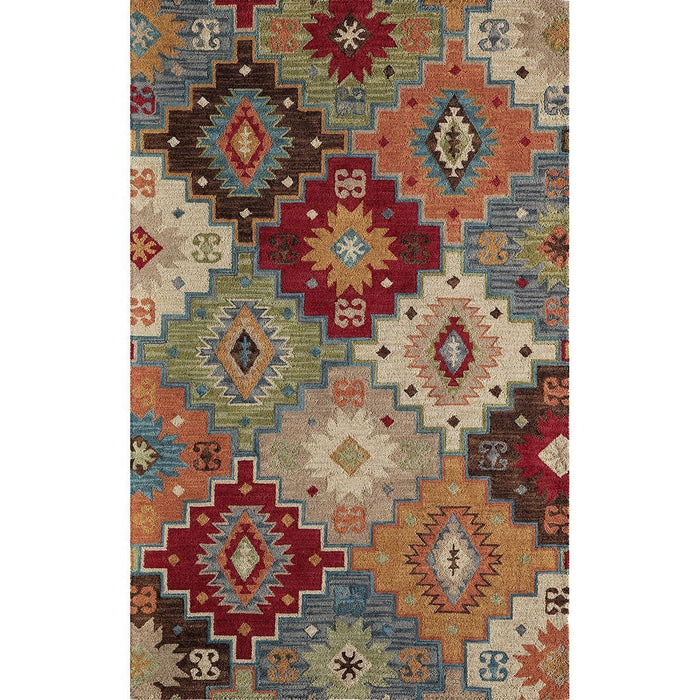 Momeni Indian Hand Tufted TAN23 Multi Rug