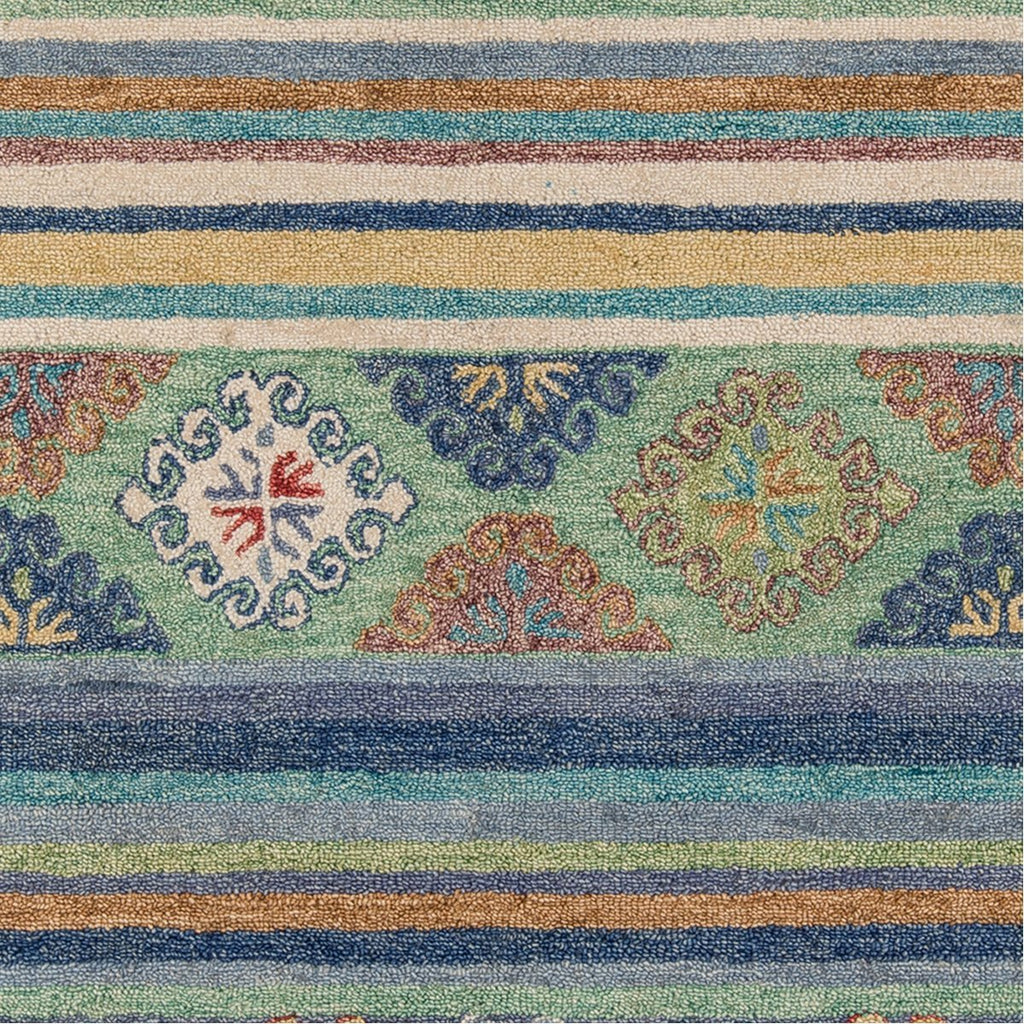 Momeni Tangier Hand Tufted TAN32 Blue Indoor Rug
