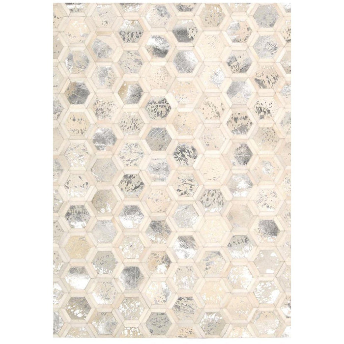 Nourison Michael Amini Ma01 City Chic MA100 Snow Rug
