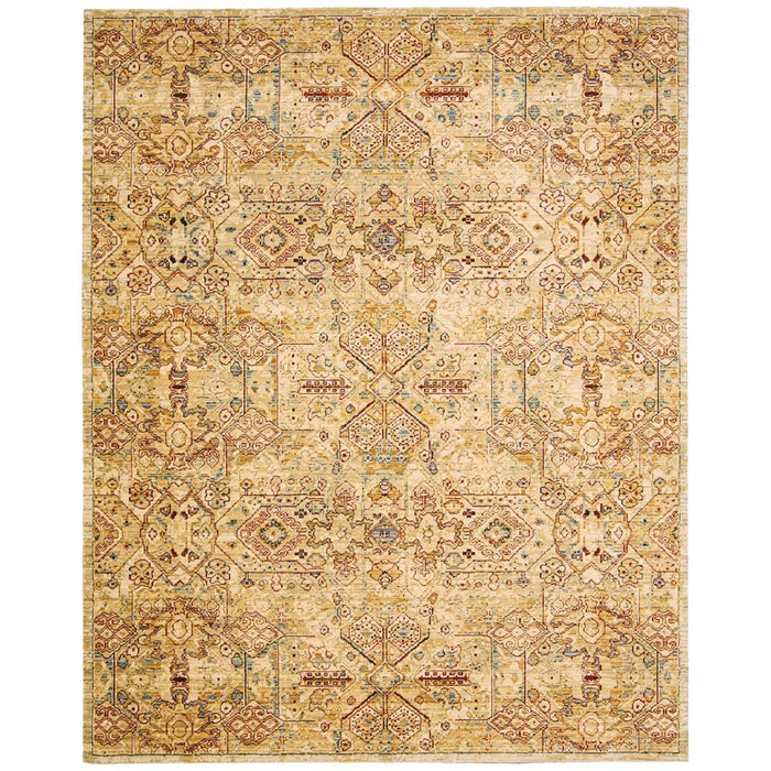 Nourison Rhapsody RH008 Light Gold Rug