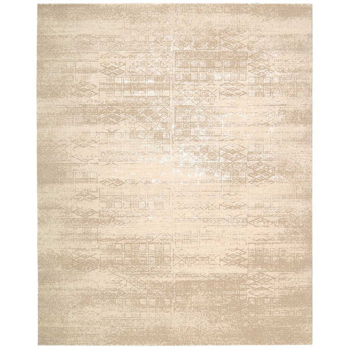 Nourison Silk Elements SKE21 Bone Rug