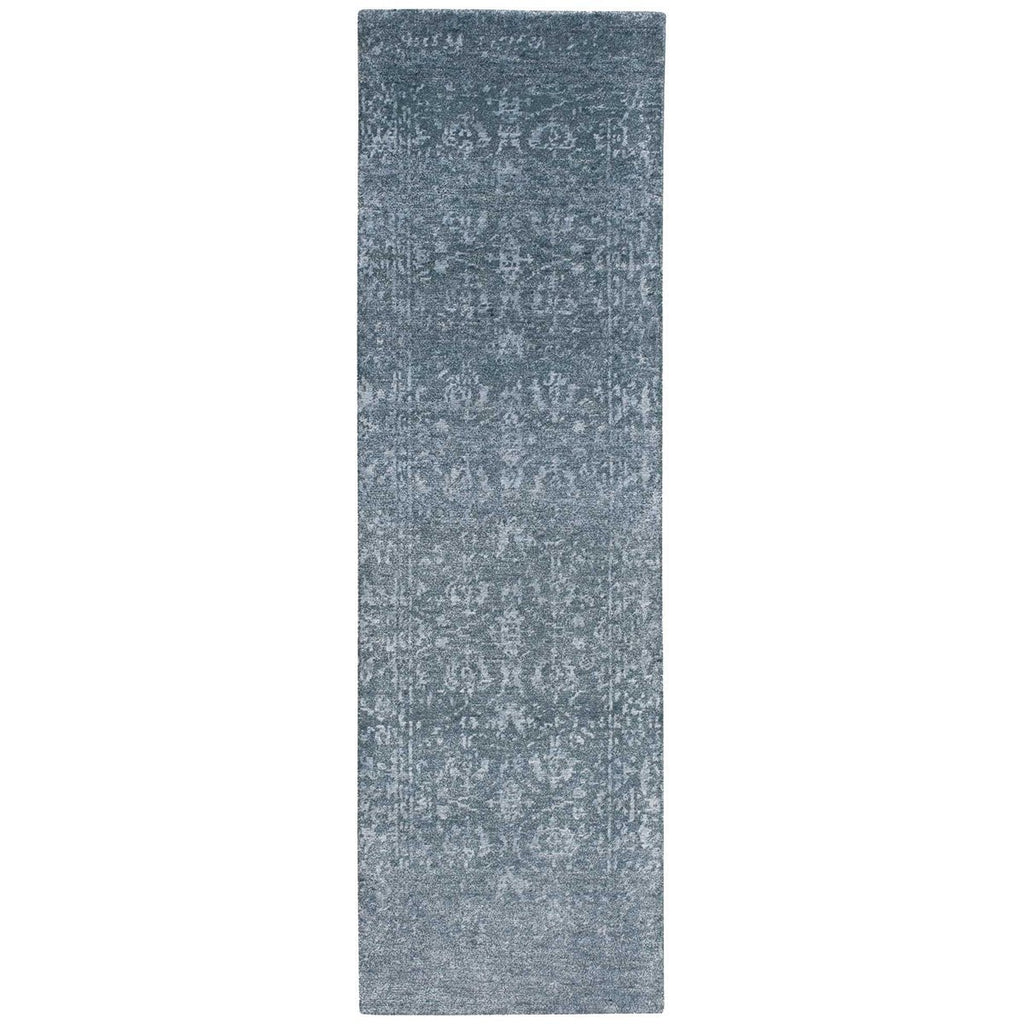 Nourison Silk Shadows SHA15 Blue Stone Rug