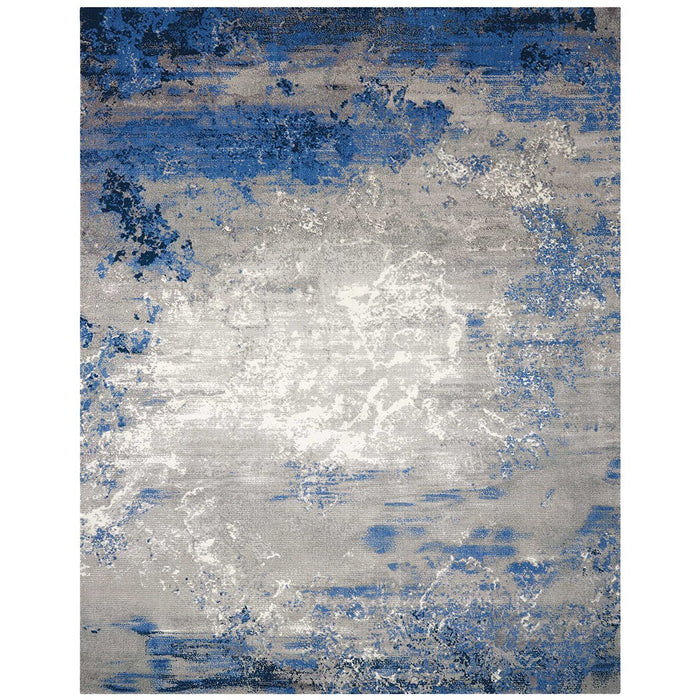 Nourison Twilight TWI22 Blue Grey Rug