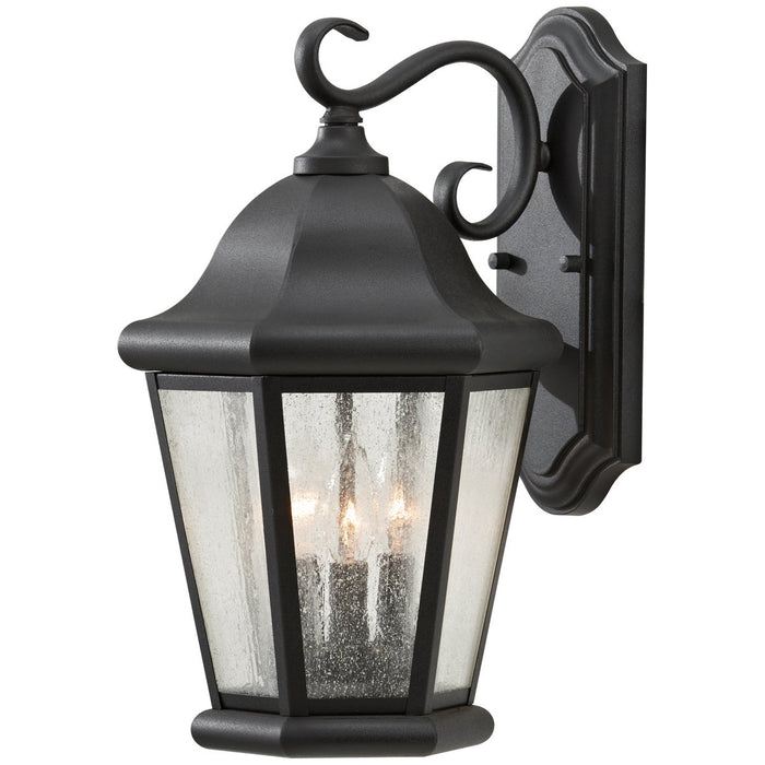 Sea Gull Lighting Martinsville Large 3-Light Outdoor Wall Lantern