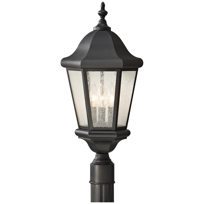 Sea Gull Lighting Martinsville 3-Light Outdoor Post Lantern