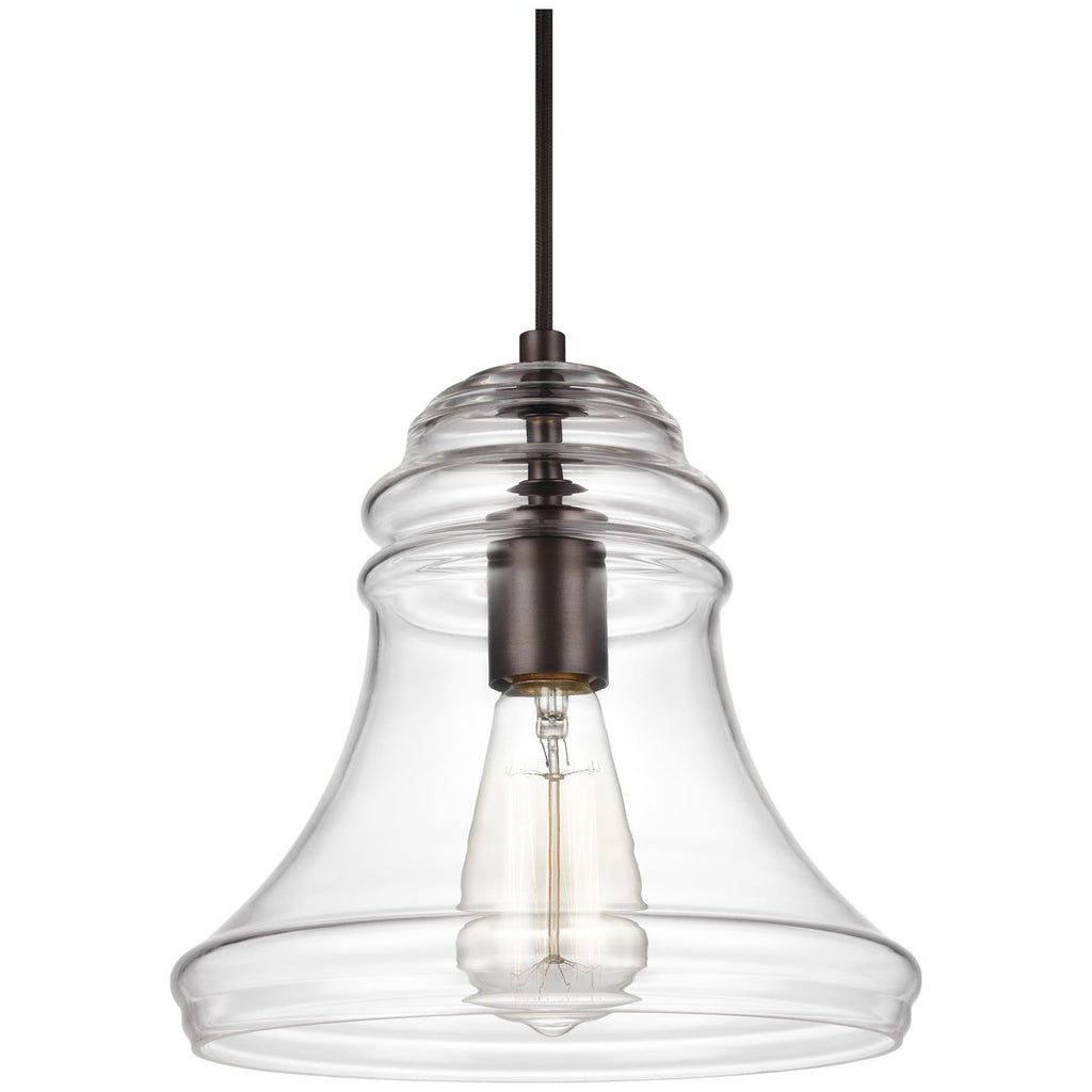 Sea Gull Lighting Doyle 1-Light Mini-Pendant - 75W