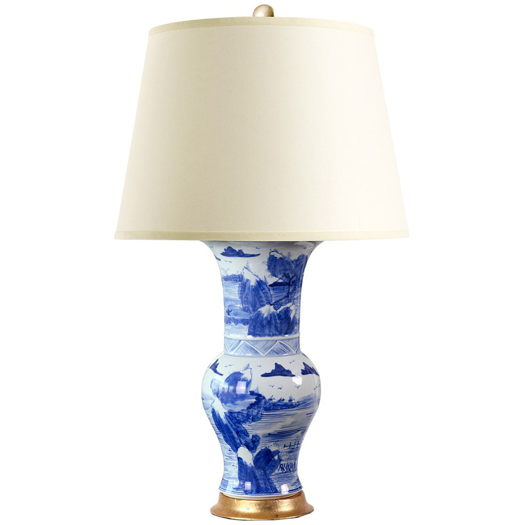 Bungalow 5 Pavillion Lamp in Blue and White