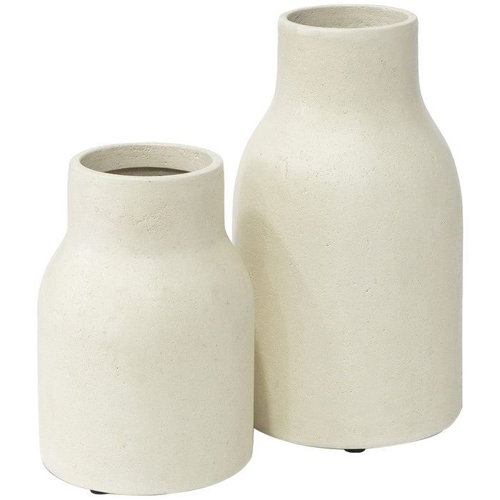 Palecek Nova Large Cylinder Urns - Set of 2