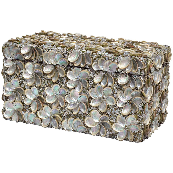 Palecek Abalone Shell Rectangular Box