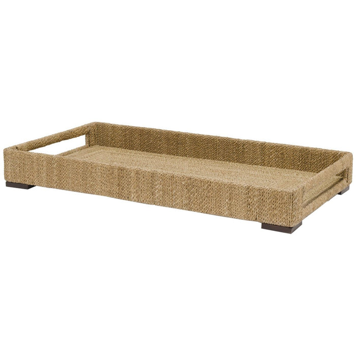Palecek Woodside Rectangular Tray - Natural