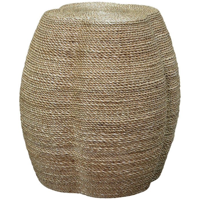 Palecek Wrapped Rope Clover Stool