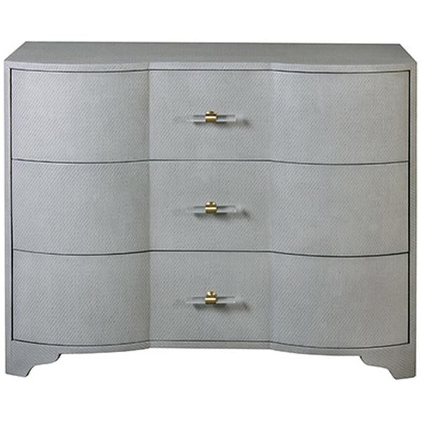 Worlds Away 3-Drawer Chest