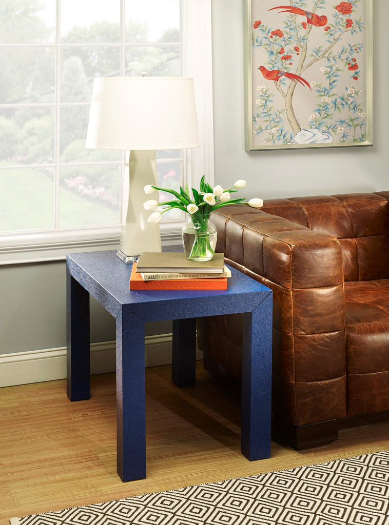Bungalow 5 Parsons Side Table in Navy