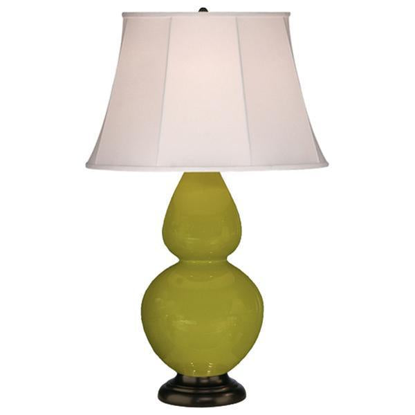 Robert Abbey Double Gourd Ceramic 1 Bulb Table Lamp