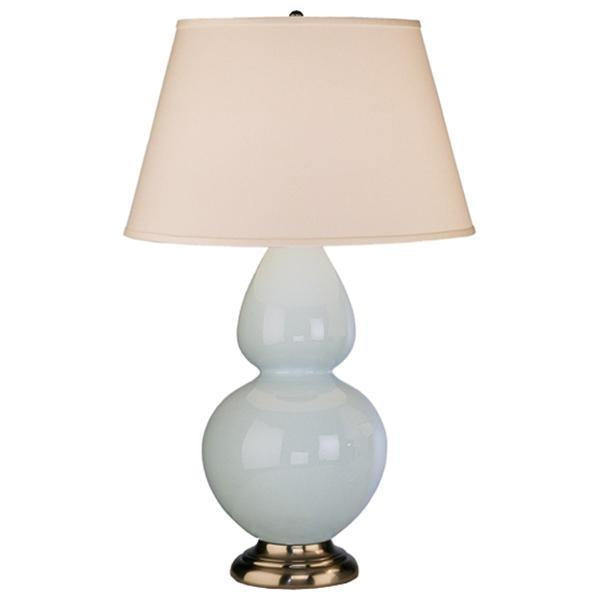 Robert Abbey Double Gourd Table Lamp with Hard Back Shade