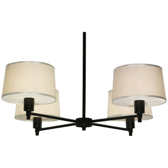 Robert Abbey Real Simple 4 -Light Chandelier