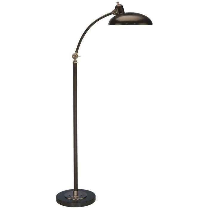 "Robert Abbey Bruno Adjustable ""C"" Arm Task Floor Lamp"