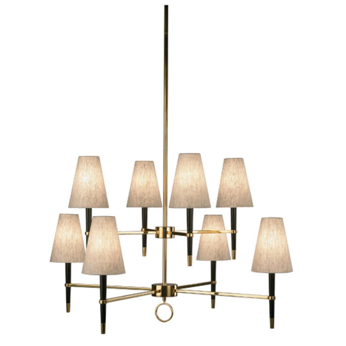 Robert Abbey Jonathan Adler Ventana 2-Tier Chandelier 673