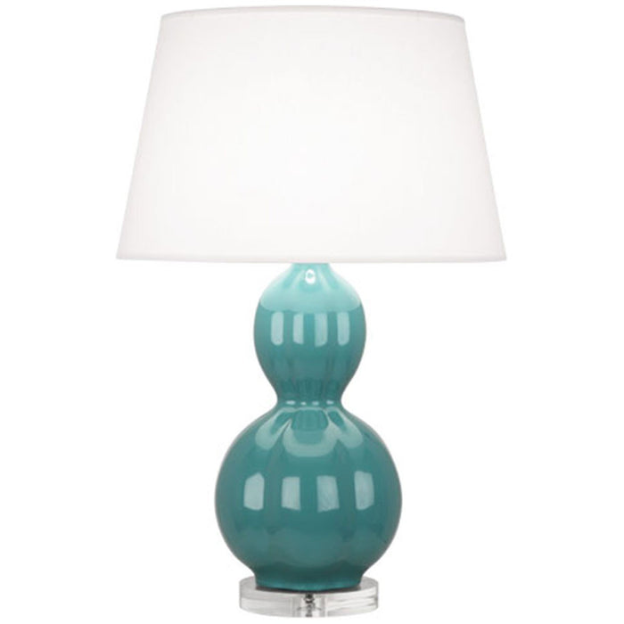 Robert Abbey Williamsburg Randolph Lucite Base Table Lamp