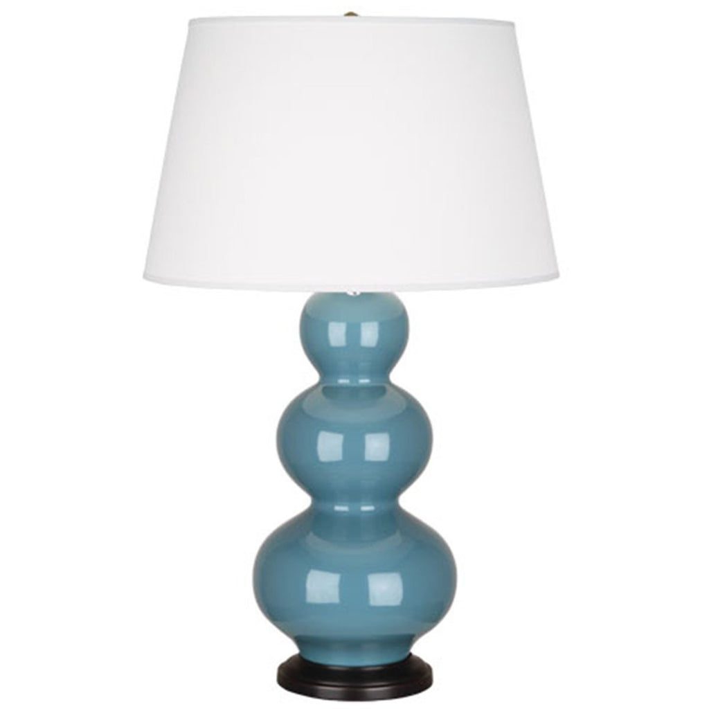 Robert Abbey Large Triple Gourd Table Lamp