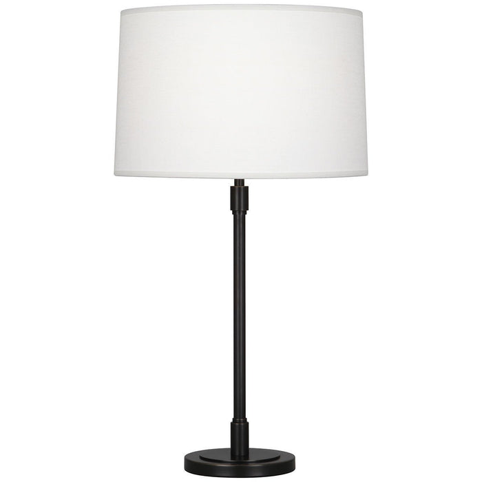 Robert Abbey Bandit Oyster Linen Table Lamp