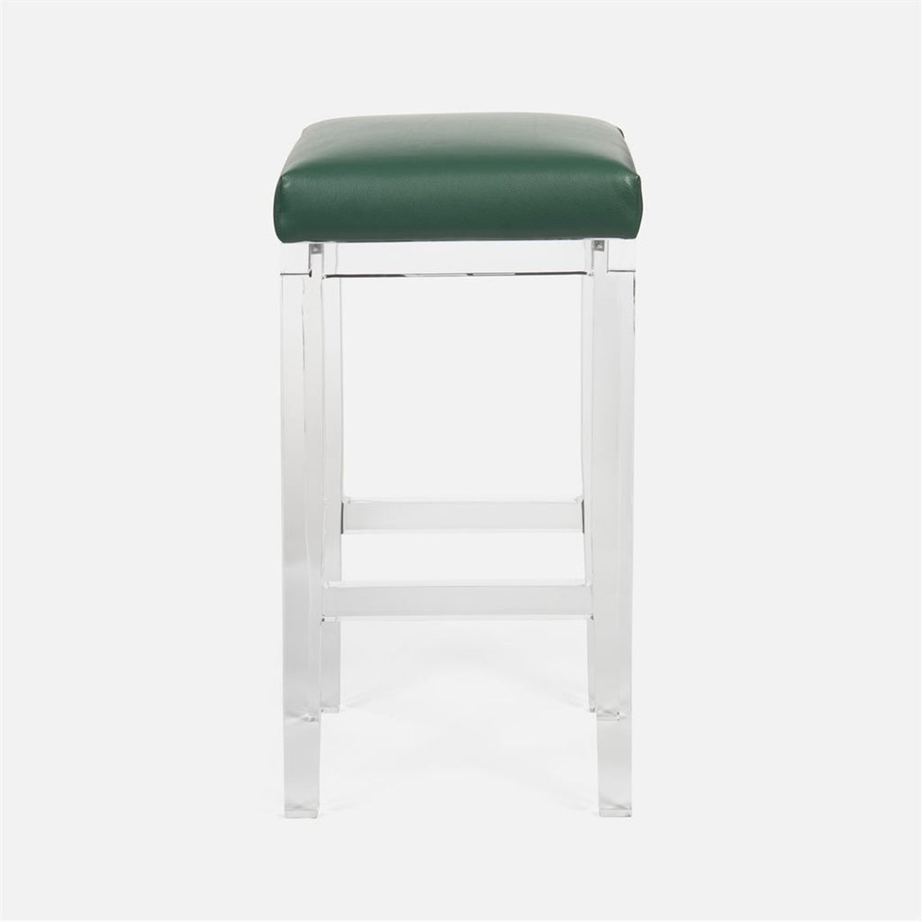 Made Goods Ramsey Bar Stool in Rhone Leather