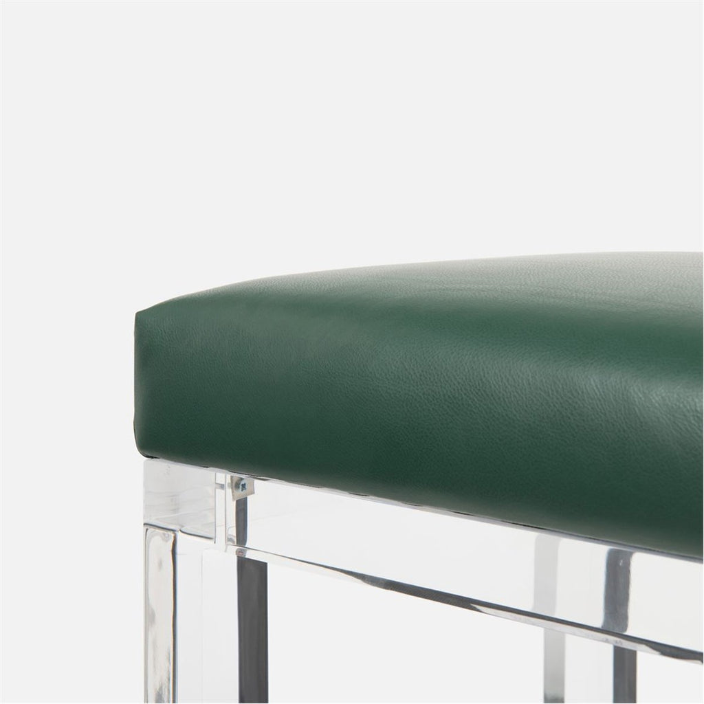 Made Goods Ramsey Bar Stool in Marano Wool-On Lambskin