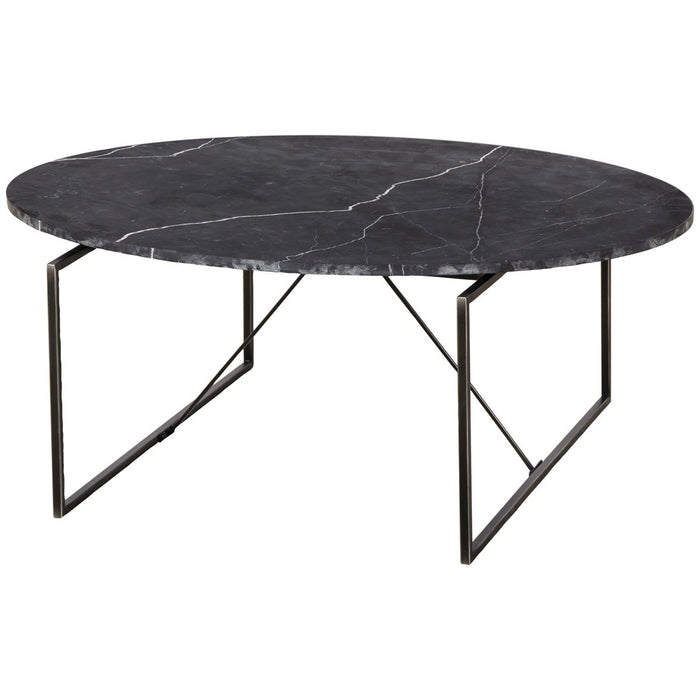 Thomas Bina Georgina Coffee Table - Black Marble