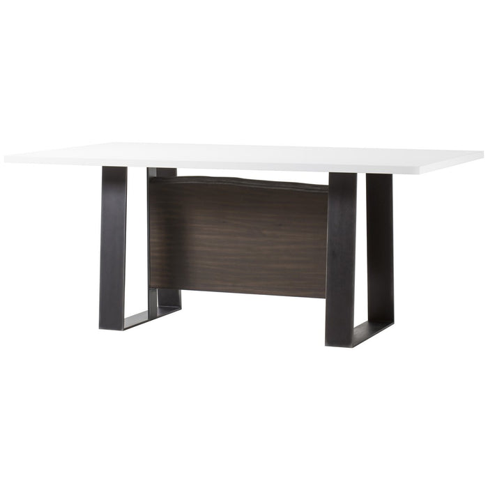 Thomas Bina Jordan Dining Table - White Acrylic