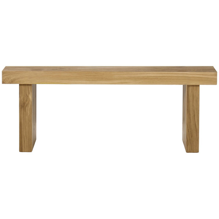 Thomas Bina Emelia Bench - Natural Oak without Seat Pad