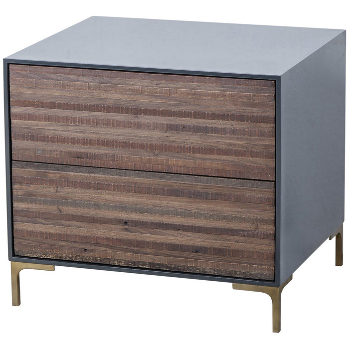 Thomas Bina Zuma 2-Drawer Nightstand