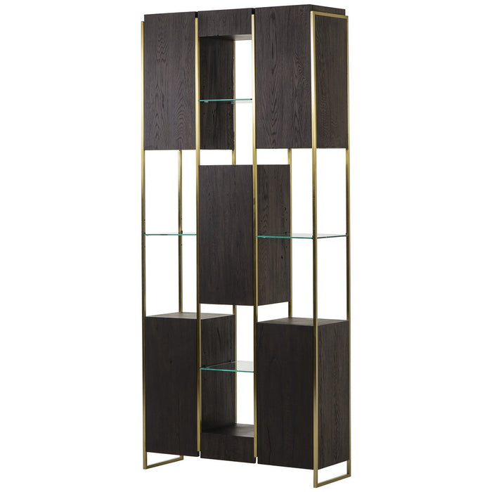 Thomas Bina Marley Large Bookcase - Dark Oak