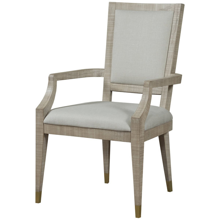 Maison 55 Raffles Dining Arm Chair - Natural, Norman Ivory
