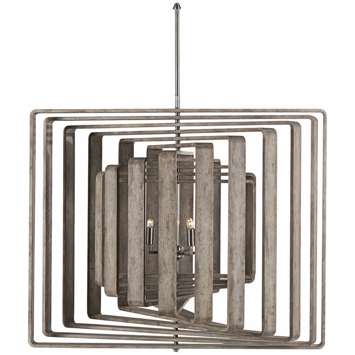 Nellcote Spiral 11-Layer Chandelier
