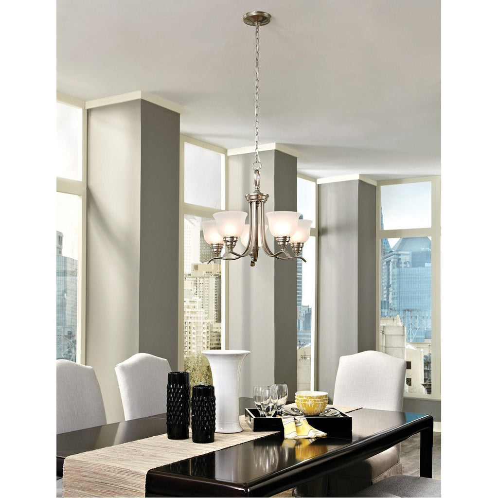 Sea Gull Lighting Wheaton Transitional Five Light Chandelier