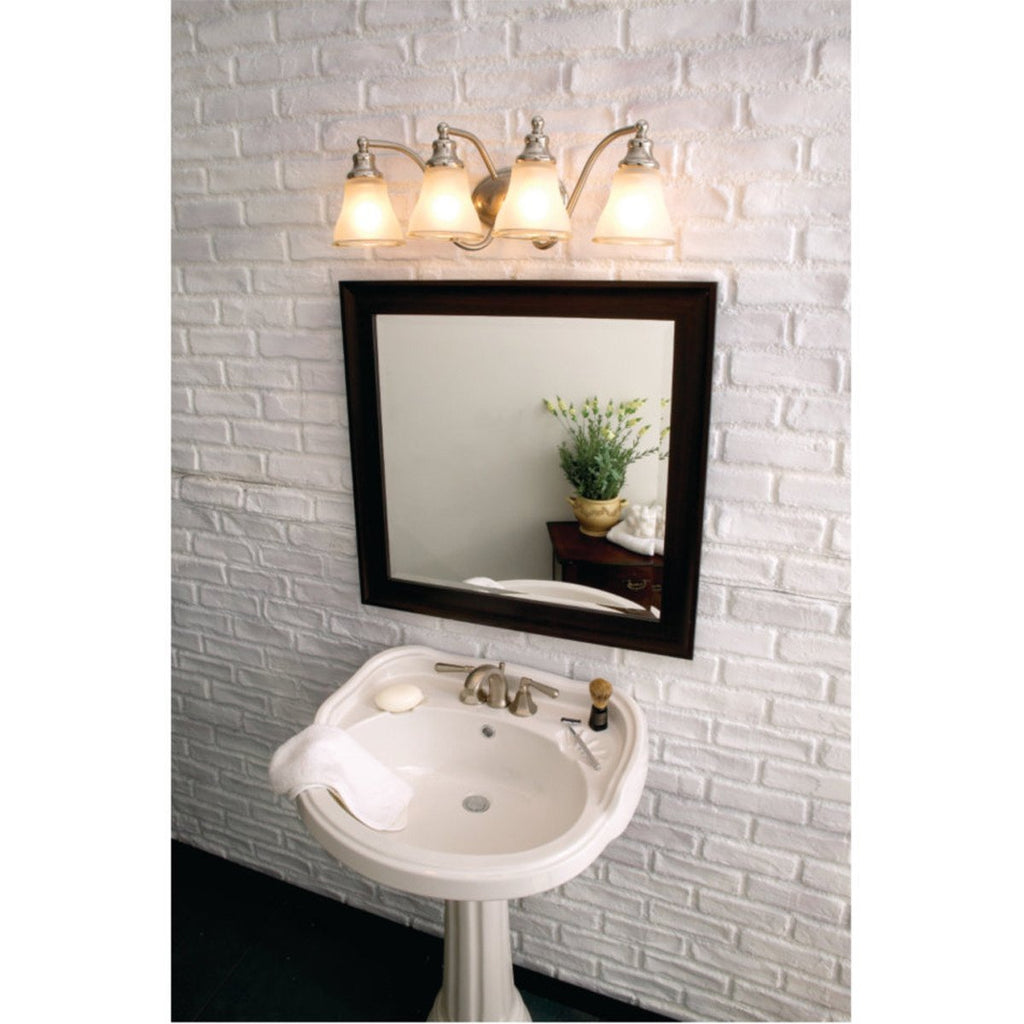 Sea Gull Lighting Two Tone Nickel Two Light Wall Bath Sconce