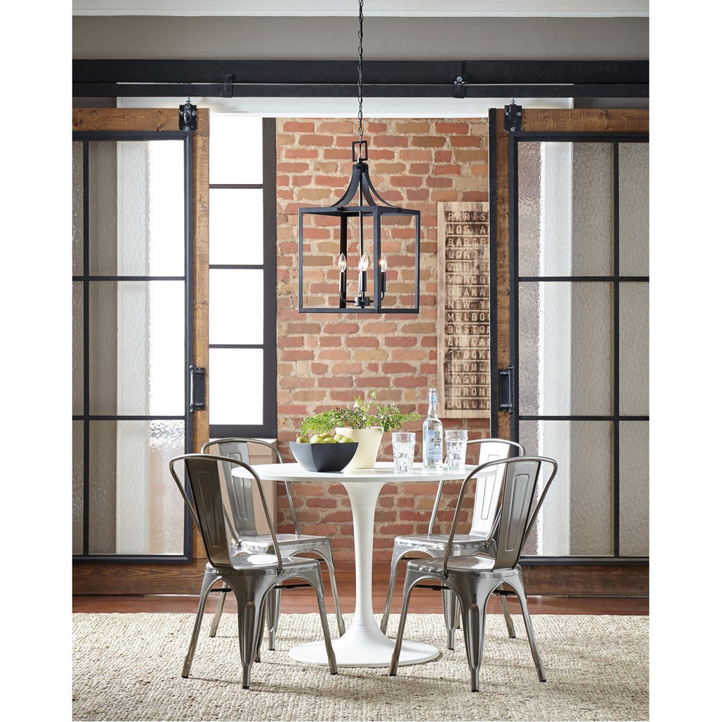 Sea Gull Lighting Labette Large Four Light Hall Foyer Pendant