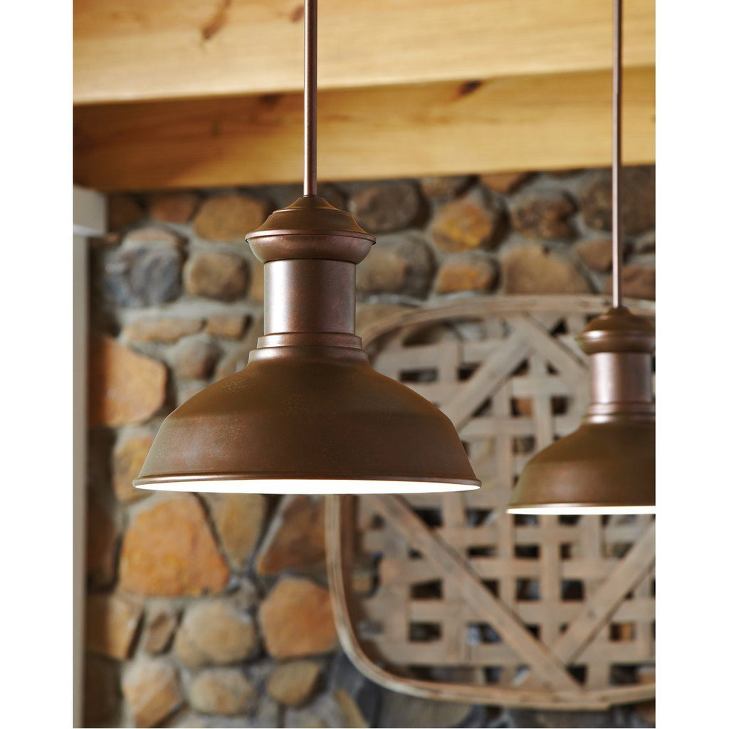 Sea Gull Lighting Fredricksburg Large 1 Light Outdoor Wall Lantern